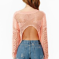 Back Up Knit - Coral