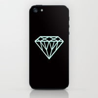3D Tiffany Diamond iPhone &amp; iPod Skin by RexLambo | Society6
