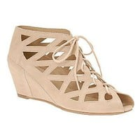 Call It Spring® Donna Lace-Up Wedge Sandal : all women's shoes : womens shoes : jcpenney