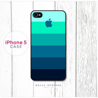 iPhone 5 case Color Palette with Logo