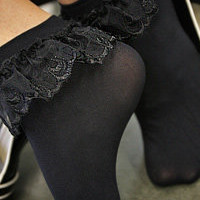 Socks By Sock Dreams  » Socks » Lace Ruffle Anklets