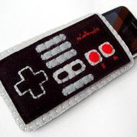 NES Controller Cozy by yummypocket on Etsy