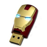 2012 Marvel Avengers Movie Iron Man Mark Iv 8gb Usb2.0 Flash Drive Tony Stark New and Fashion: Computers &amp; Accessories