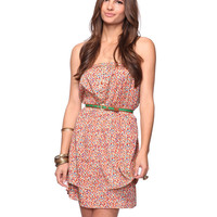 Strapless Floral Dress | FOREVER21 - 2008584384
