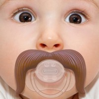 Stachifier - The Cowboy Mustache Pacifier: Baby