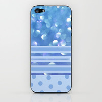 Blueberry Breeze Sherbet iPhone & iPod Skin by Lisa Argyropoulos | Society6