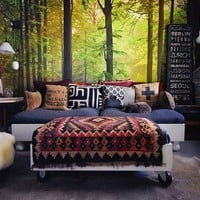Autumn Forest Wall Mural - $100 | The Gadget Flow