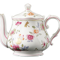 One Kings Lane - The Floral Table - Granduca Floral Teapot