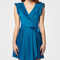 Pleated Zooey Dress | Shop Necessary Objects Dresses Now | fredflare.com