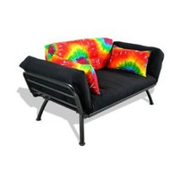 Amazon.com: American Furniture Alliance Modern Loft Collection Futon Mali Flex Combo, Summer Tye-Dye: Home & Kitchen