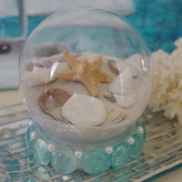 Beach Decor Beach Sand Snow Globe by ByTheSeashoreDecor on Etsy
