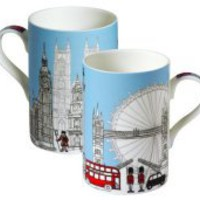 BBC America Shop - James Sadler London Skyline Mug