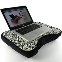 Medium Damask Computer Lap Desk by LapDeskLady on Etsy