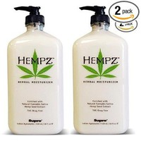 Hempz Herbal Moisturizer 17 Oz 2 Pack: Beauty