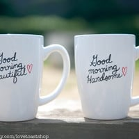 His & Hers Good Morning Mugs