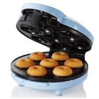 Sunbeam FPSBDMM921 Mini Donut Maker, Blue: Kitchen & Dining