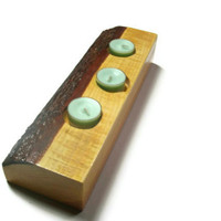 Candle Holder Wood Seagreen Candles- Wood Tea Light Candle Holder