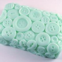 Fresh Laundry Goat Milk and Olive Oil Button Soap by HelloCrafty