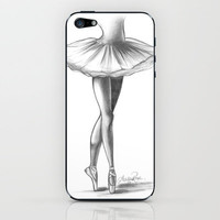 Ballerina - Ashley Rose iPhone &amp; iPod Skin by AshleyRose | Society6