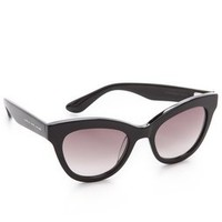 Marc by Marc Jacobs Rounded Cat Eye Sunglasses | SHOPBOP