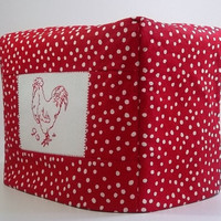 Red and White Polka Dot Toaster Cover