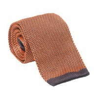 Men's Neckties: Micro Solid Knit Silk Tie for Men