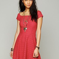 Free People Shimmy Shake Fit and Flare Dress