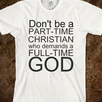 PART-TIME CHRISTIAN