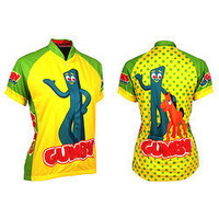 Retro Image Gumby Womens Jersey 100068294 at CambriaBike.com
