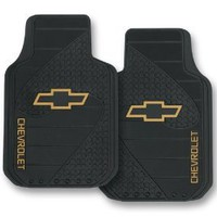Chevy Factory Style Trim-To-Fit Molded Front Floor Mats - Set of 2 : Amazon.com : Automotive