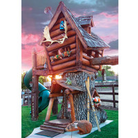 The Log Cabin Tree Lodge - Hammacher Schlemmer