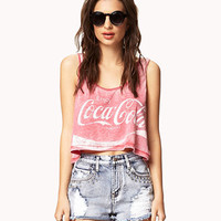 Burnout Coca-Cola Tank | FOREVER 21 - 2053481105
