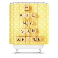 DENY Designs Home Accessories | Happee Monkee You Are My Sunshine Shower Curtain