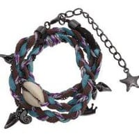 Disney Couture Little Mermaid Wrap Bracelet Purple - Zappos.com Free Shipping BOTH Ways