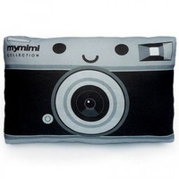 ShanaLogic.com - 100% Handmade  Independent Design! Mini Camera Pillow - Cute Cute Cute!