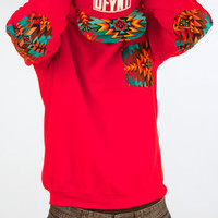 Defyant Aztec Pocket Crewneck