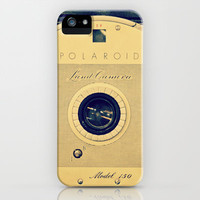 Antique Polaroid iPhone Case by RDelean