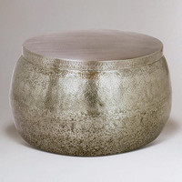 Cala Hammered Coffee Table - World Market