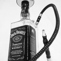 Custom Hookah Shisha made from a Jack Daniels 1.75L  LARGE