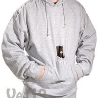 Beer Pouch Sweatshirt with Hood: The Original Beer Holder Sweatshirt