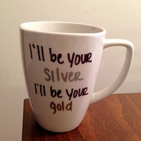Justin Bieber &quot;As Long As You Love Me&quot; lyric mug