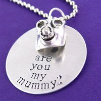 Doctor Who - Are You My Mummy? Necklace - Spiffing Jewelry