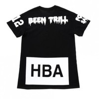 Indie Designs Hood by Air HBA x Been Trill Print T-Shirt