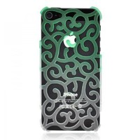 Color Gradient Hollow Vine iPhone 5 Case - Green
