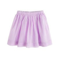 Girls' pull-on pleated skirt - solids - Girl's skirts - J.Crew
