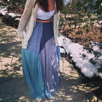 FP ONE Patchwork Maxi style pic on Free People