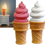Giant Ice Cream Cone Lamp