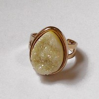 Geode ring