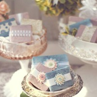 Soap Favors  Wedding or Bridal Shower  by WhisperingWillowSoap