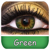 Natural Green Contact Lenses | Natural Green Contact Lenses